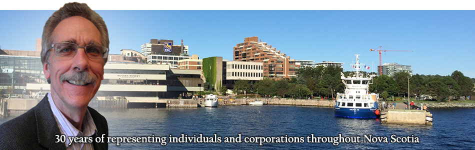 Jeremy Gay   Dartmouth Lawyer - 30 years of representing individuals and corporations throughout Nova Scotia